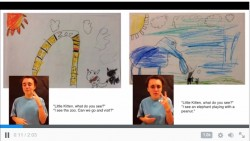 Book Creator: app to make your own sign language books