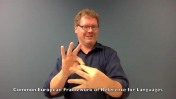 CEFR: an introduction (Int. Sign)