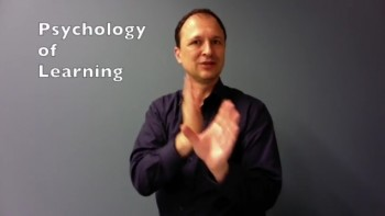 Psychology of Learning (Int.Sign)