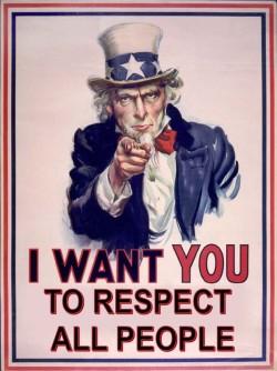 Please respect our culture!