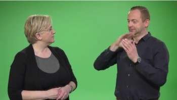 """""""Sign Together"""": Linguistic Experience for Children through Fluent Signers (Int. Sign)"""