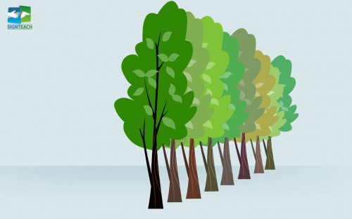 Tree - many - line